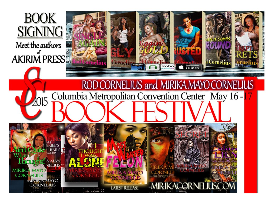 SC BOOK FESTIVAL Akirim Press Authors