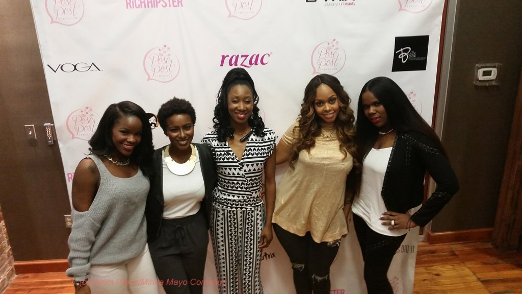 Fash(Lover4_Fashion), Ambrosia Malbrough, Mirika Mayo Cornelius, Chrisette Michele, Courtney Adeleye of The Mane Choice