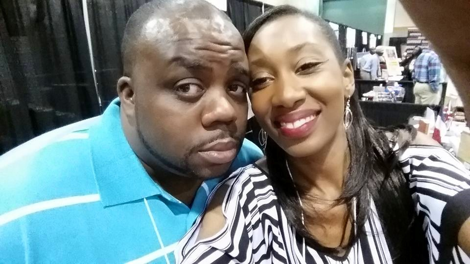 Rod Cornelius and Mirika Mayo Cornelius at the 2015 SC Book Festival