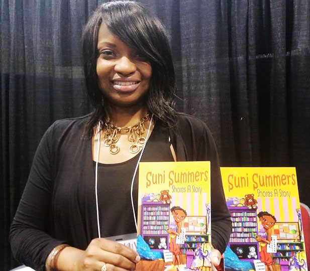 Sonja Williams at the 2015 SC Book Festival